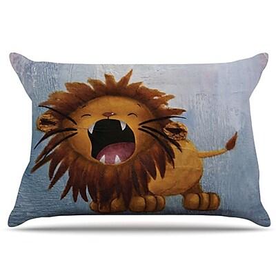 KESS InHouse Dandy Lion Pillowcase; Standard WYF078275759260