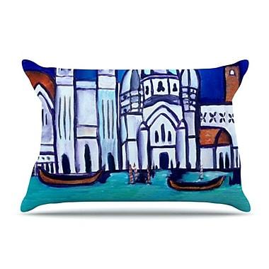 KESS InHouse Venice Pillowcase; Standard