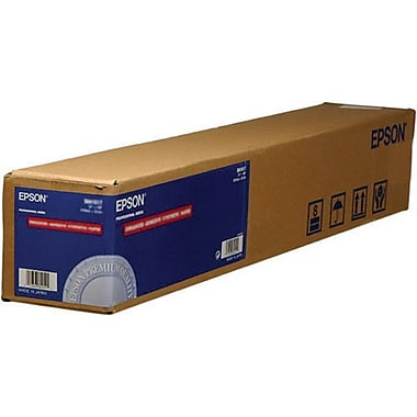 Epson Premium Photo Inkjet Wide Format Paper, Semigloss, 36