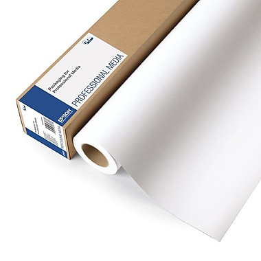 Epson Ultra Premium Wide Format Photo Paper, Luster, 36'' x 100' Roll