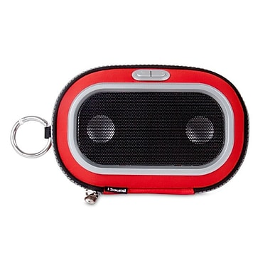 i.Sound ISOUND-1673 Concert To Go Portable Speaker Case, Red