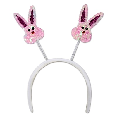 Beistle Sequined Bunny Boppers