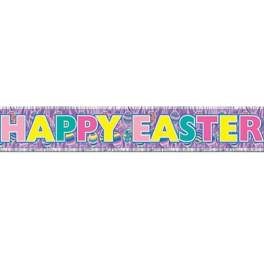 Metallic Happy Easter Fringe Banners, 8