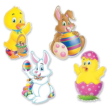 Packaged Easter Cutouts, 14