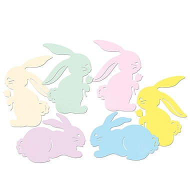 Packaged Bunny Silhouettes, 15-1/2