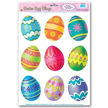 Easter Egg Clings, 12