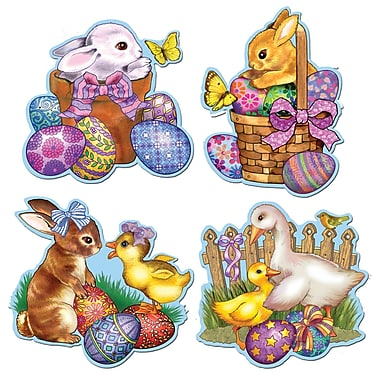 Packaged Easter Icon Cutouts, 16