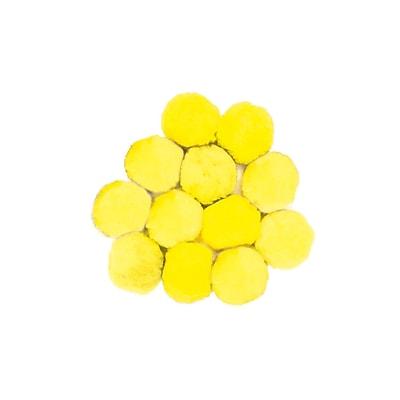 Chenille Kraft® Colossal Fluff Ball, 90 mm, Yellow