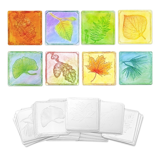 Chenille Kraft® Embossed Paper Leaf Collection