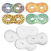 Chenille Kraft® Embossed Paper Masks