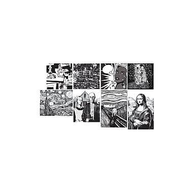 Chenille Kraft® Fine Art Collection Embossed Paper Set