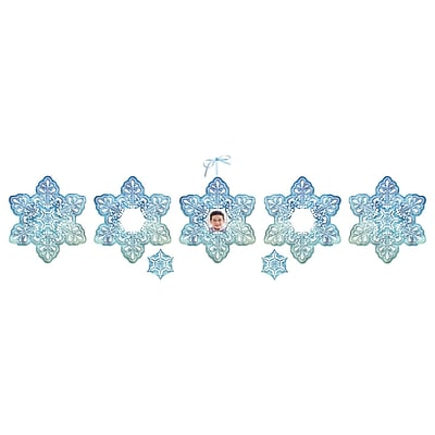 Chenille Kraft® Snowflake Collection Embossed Paper Set