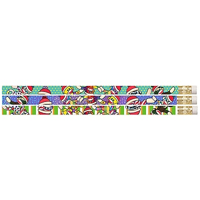 Musgrave Pencil Company Sock It To Me Monkeys Motivational Pencil, 12/Pack