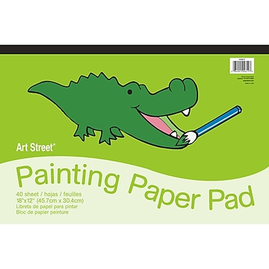 Pacon® Art Street® Painting Paper Pad, 18