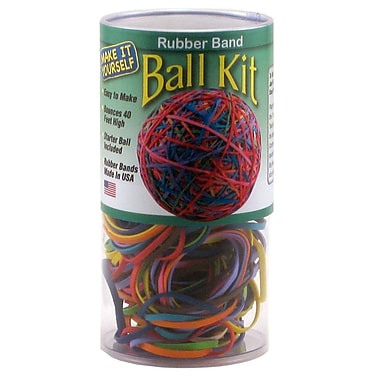 The Pencil Grip Rubber Band Ball Kit, 3/Pack (TPG501T)