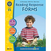 Classroom Complete Press Reading Response Forms Book, Grade 3 - 4