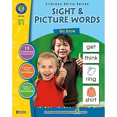Classroom Complete Press Sight & Picture Words Big Book, Grade PreK - 2 (CC1115)