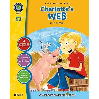 Classroom Complete Press Charlotte's Web Literature Kit, Grade 3 - 4 (CC2306)