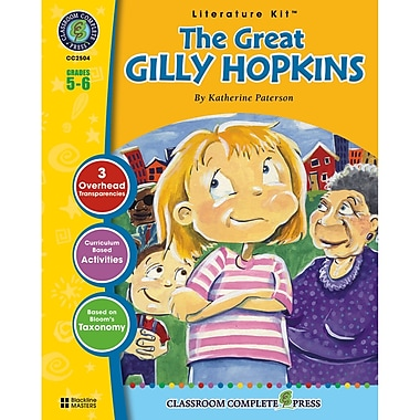 Classroom Complete Press The Great Gilly Hopkins Literature Kit, Grade 5 - 6 (CC2504)