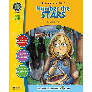Classroom Complete Press Number The Stars Literature Kit, Grade 5 - 6 (CC2506)