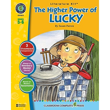 Classroom Complete Press The Higher Power of Lucky Literature Kit, Grade 5 - 6 (CC2512)