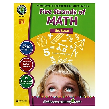 Classroom Complete Press Five Strands of Math Task Big Book, Grades 6 - 8