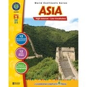 Classroom Complete Press World Continents Series Asia Resource Book, Grades 5 - 8
