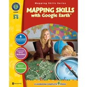 Classroom Complete Press Grade 3-5 Mapping Skills Book With Google Earth™