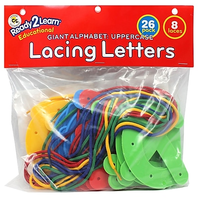 Center Enterprises Ready2Learn™ Uppercase Lacing Alphabets