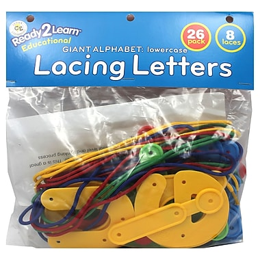 Center Enterprises Ready2learn Lowercase Lacing Alphabets (CE-6905)