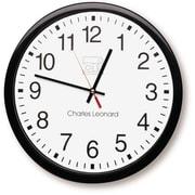 "Charles Leonard 14"" Thinline Wall Clock"