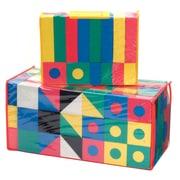 Chenille Kraft® WonderFoam® Blocks, Assorted, 152/Pack