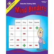 Critical Thinking Press™ Mind Benders Book 3 Deductive Thinking Skills Book, 3 - 6 Grade