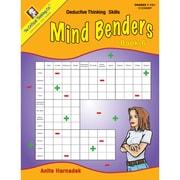 Critical Thinking Press™ Mind Benders Book 6 Deductive Thinking Skills Book, 7 - 12 Grade