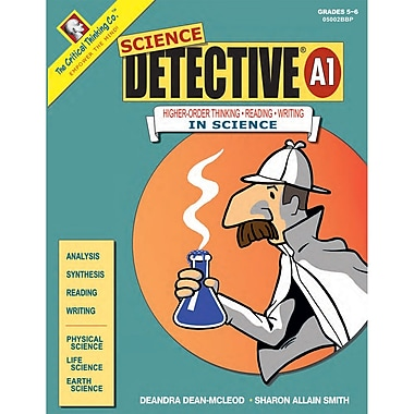 The Critical Thinking Co™ Science Detective® A1 Critical Thinking Book, 5 - 6 Grade (CTB05002BBP)