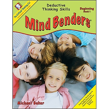 The Critical Thinking Co™ Mind Benders® Book 1, Grades PreK - K (CTB1328)