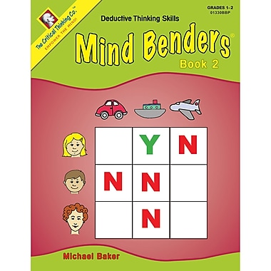 The Critical Thinking Co™ Mind Benders® Book 2, Grades 1 - 2 (CTB1330)
