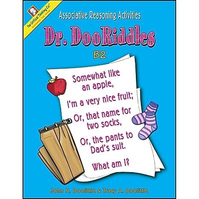 Critical Thinking Press™ Dr. DooRiddles B2 Activity Book, 4 - 7 Grade
