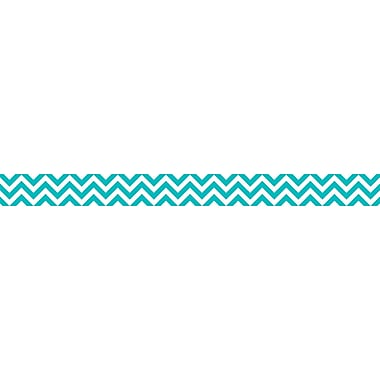 Creative Teaching Press Chevron Border, Turquoise, 72/Set (CTP0169)