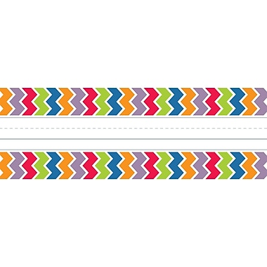 Creative Teaching Press Toddler - 6 Grade Name Plate, Chevron, 36/Pack (CTP0170)