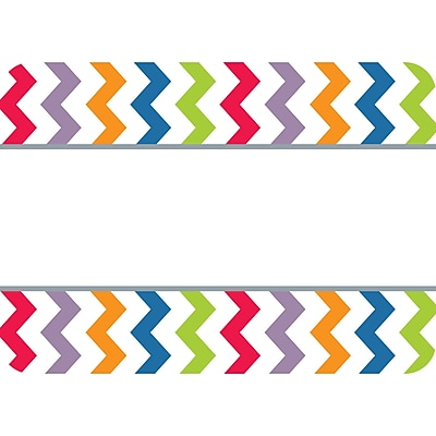 Creative Teaching Press® Toddler - 12 Grade Name Tag, Chevron, 36/Pack