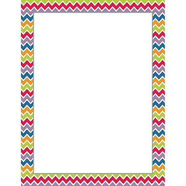 Creative Teaching Press® Chevron Blank Poster Chart