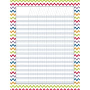 "Creative Teaching Press® Chevron Incentive Chart, 17"" x 22"""