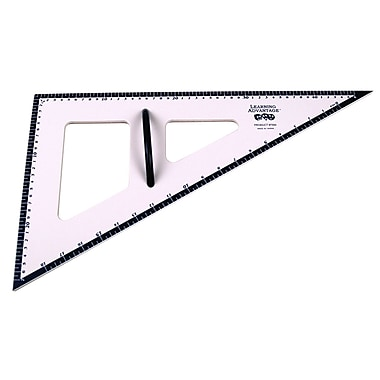 Learning Advantage 30/60/90 Degree Dry Erase Magnetic Triangle