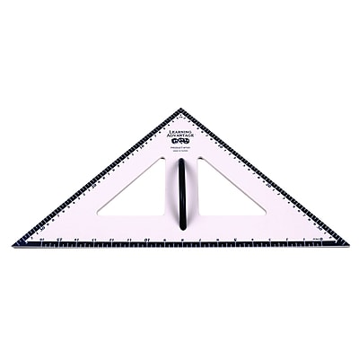 Learning Advantage™ 45/45/90 Degree Dry Erase Magnetic Triangle