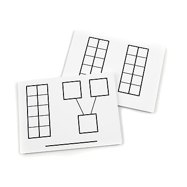 Didax Unifix® Write And Wipe Ten Frame Mat, 9