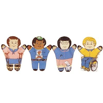 Dexter Educational Toys Special Needs Hand Puppet, 4/Set