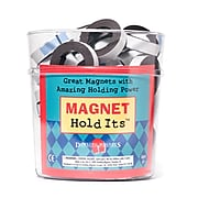 Dowling Magnets Adhesive Magnet Strip, Black, 48/Pack (DO-614D)