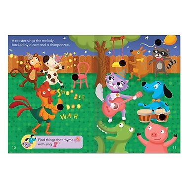 Educational Insights® Hot Dots® Jr. Ace & Kat and the Goodtime Band Story Book