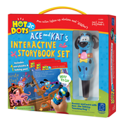 Educational Insights® Hot Dots® Jr. Book & Pen Set, 4/Set